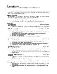 Cook Resume Sample Musiccityspiritsandcocktail Com