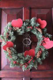 valentine wreaths for your front doorIdeas for seasonal front door wreath  The Enchanted Manor