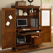 contemporary computer armoire desk computer armoire. computer armoire w pullout drawer in cherry finish contemporary desk a