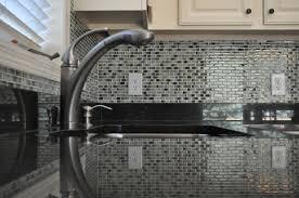 Mosaic Tiles In Kitchen Kitchen Backsplash Excellent Glass Mosaic Tile Backsplash Remodel