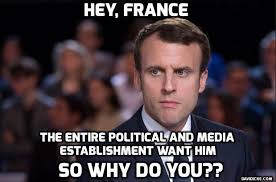 Image result for Macron the Rothschild boy