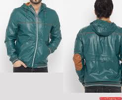 men green faux leather jacket 768768ttt222 zoom helmet