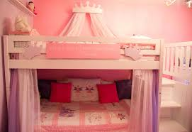 Pink Bunk Bed Canopy