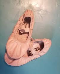 Girls Balera Pink Ballet Shoes Leather Upper Toddler Little
