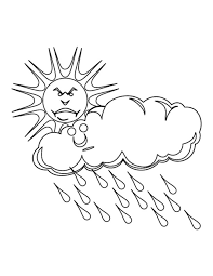 Small Picture Coloring Pages Rain