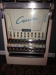 What Happened To Cigarette Vending Machines Simple Antique Vintage Cigarette Tobacco Vending Machine NR Mint Products