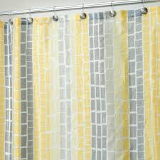 Curtains Navy Blue And Yellow Shower Curtain Floral Curtains