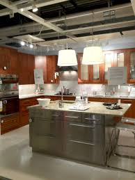 The Delightful Images of black kitchen island with stainless steel top