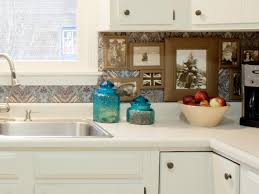 Image of: inexpensive kitchen backsplash brick