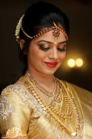golden saree top south indian bridal makeup styles that you must know uncategorized