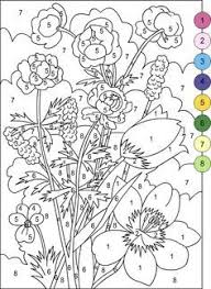 Small Picture Nicoles Free Coloring Pages COLOR BY NUMBER CAT IN CHERRY TREE