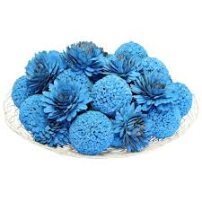 Decorative Balls For Bowl Blue Simple decorative spheres for bowls rustcrownorg