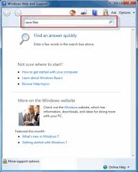 How To Access Windows 7 Help And Support Webucator