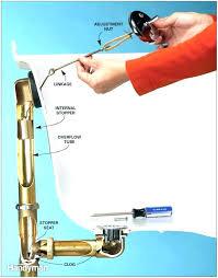 bathtub drain remove stopper removal