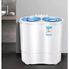 Máy Giặt Mini 2 Lồng 4,5kg có chức năng vắt khô - Máy giặt Thương hiệu OEM