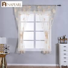 Napearl Transparent Klassische Tüll Fenster Valance Und Tiers Küche
