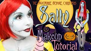 sally nightmare before makeup tutorial transform