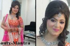 new hairstyle for indian wedding for open hair indian wedding makeup neon party look