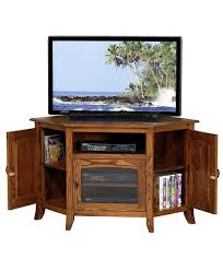 Mission Style Living Room Chair Young Mission Style 35 Corner Tv Stand Amish Direct Furniture