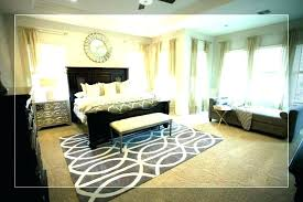 full size of area rug bedroom design white master size rugs for rules of thumb