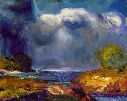 george bellows the coming storm 1916