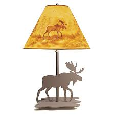 Moose Kitchen Decor Lamps Cabin Place