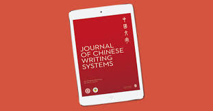 Journal of <b>Chinese Writing</b> Systems: SAGE Journals