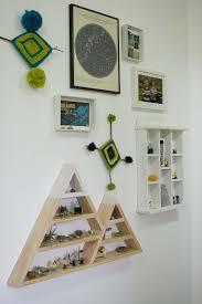 cool triangle shelf
