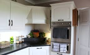 simple white wood cabinet paint color ideas for classic traditional kitchen ideas with black granite counter