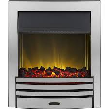 adam eclipse chrome electric inset fire