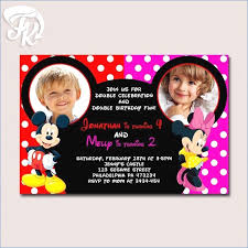 mickey and minnie invitations beautiful mickey mouse invitation for