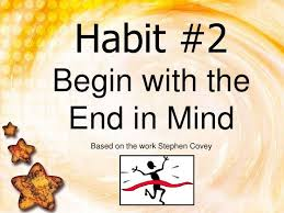 best happiness habits images organizers  habit the end in mind based on the work stephen covey