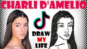 Charli D'Amelio : Draw My Life - YouTube