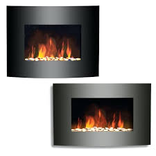black wall fireplace fire sense black wall mounted electric fireplace black curved glass electric wall mounted