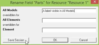 Renaming fields for all models | Extending the STEM data model with ...