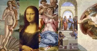 Los cuatro pintores más grandes del Renacimiento italiano. - 3 minutos de  arte