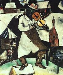 marc chagall 1912 the fiddler an inspiration for the al fiddler on the roof