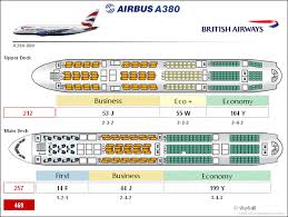 Airbus A380 Cabin Configuration Airbus A380 British