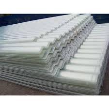 white fiberglass corrugated roofing sheet 2 3mm