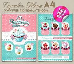 Cupcake Menu Cupcakes Stuff In Bakery Menu Cupcakes Menu Cupcake