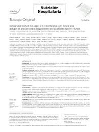 Pdf Comparative Study Of Mid Upper Arm Circumference Arm