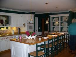 Green And White Kitchen Dark Kitchen Cabinets Green Walls Quicuacom