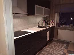 Marmoleum Kitchen Floor Kapk Grayen Hapgglans Luckor Glasskiva Marmoleum Golv Nya Kapket