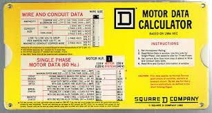 American Slide Chart Co Motor Data Slide Chart 10 57 Picclick
