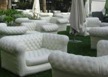 inflatable outdoor furniture. From Affordable Finds To Grand Statements That Are Sure Be The Center Of Attention At Your Next Party, Check Out 15 Inflatable Outdoor Sofas Below Furniture L