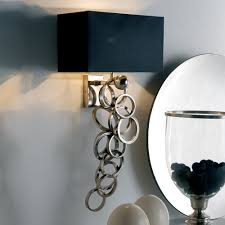 contemporary italian lighting. High End Contemporary Italian Silver Plated Wall Lamp Lighting