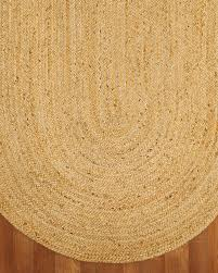 Castilla Jute Oval Rug (Clearance) - Natural Area Rugs