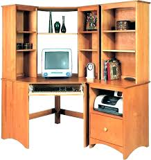 corner office desk hutch. Small Corner Office Desk Computer With Hutch Cheap . F
