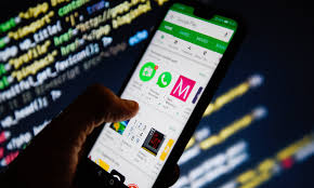 Designed For Phones Google Play Millions Download Apps In Google Play Store Designed To Spy
