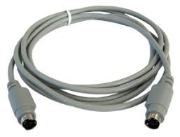 Image result for PS/2 6 Pin Male To Male Cables 3M